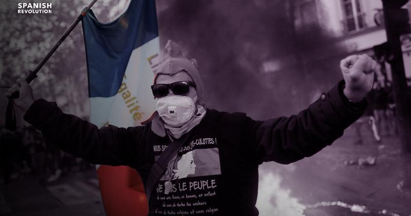 Manifestaciones multitudinarias en Francia contra la ley de seguridad de Macron