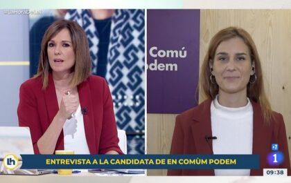 Toni Cantó se hacía eco de un incidente durante una entrevista a Jéssica Albiach y fue respondido con humor