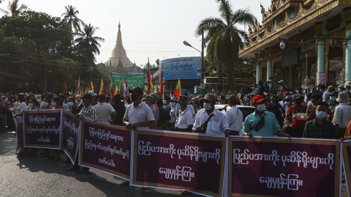 Los militares birmanos vuelven a aplicar mano dura (y el país da un gran paso atrás)