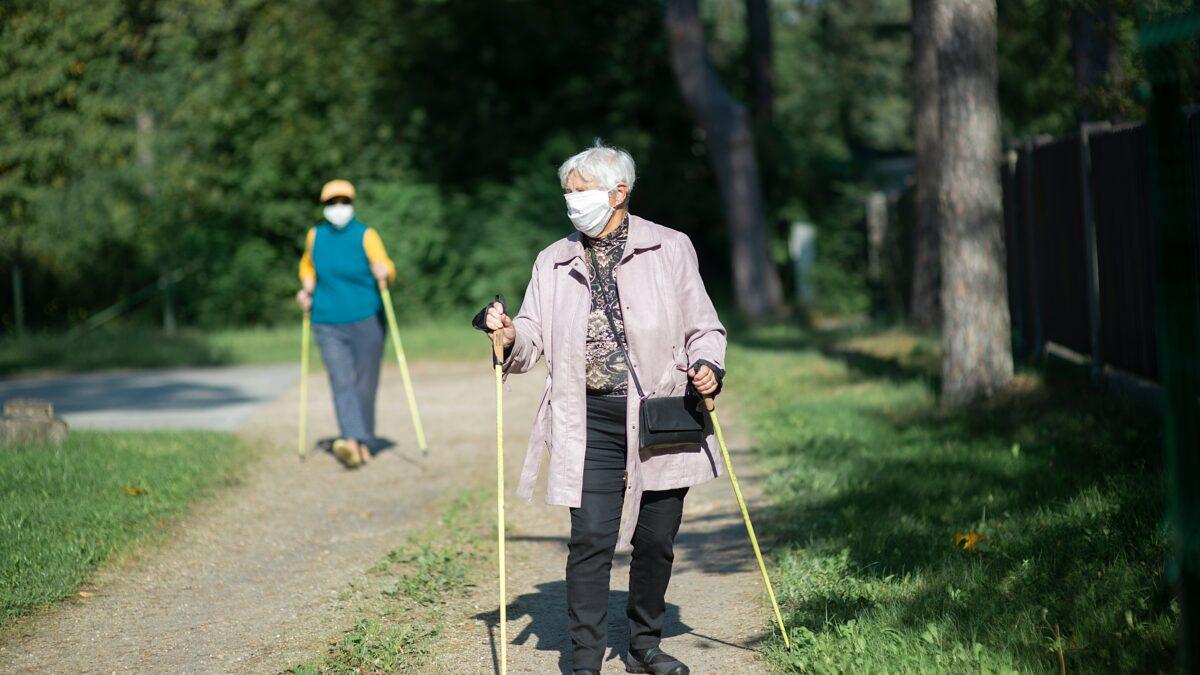 Moviéndonos somos menos vulnerables a la COVID-19 a cualquier edad